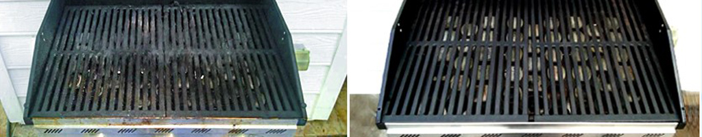 Virginia Grill Cleaning before and after